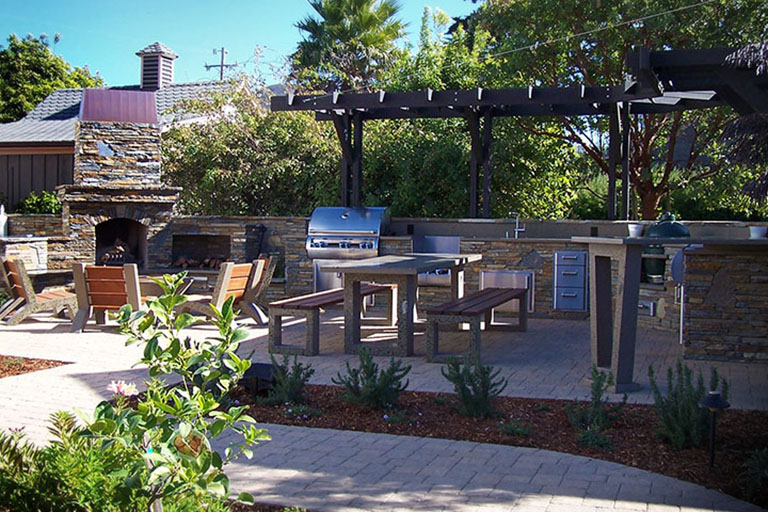 Superior Expand Your Living Space With A Great Place To Entertain By Adding An Outdoor  Kitchen. We Offer A Multitude Of Designs For Outdoor Kitchens And Barbecue  ... Amazing Pictures