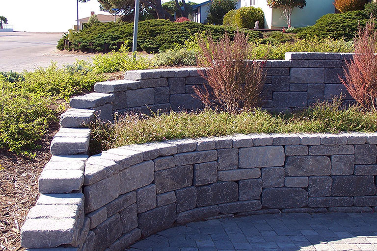 Types Of Retaining And Garden Walls Landscaping