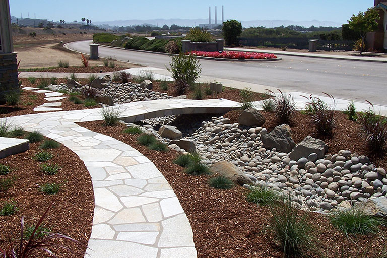 Earthscapes Landscaping Services Creekbeds Water Features