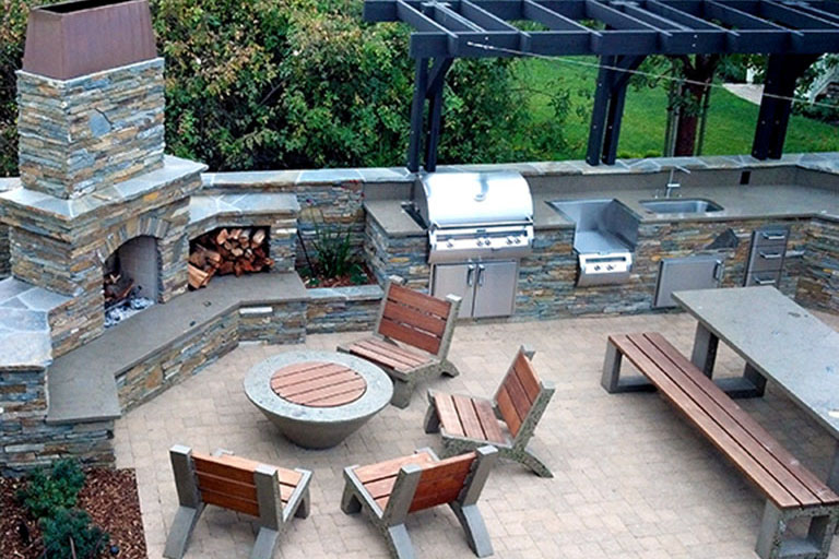 Earthscapes Landscaping Services Outdoor Kitchens